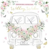 Handcrafted - Card - Special Wedding Wishes